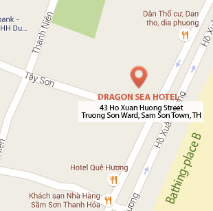 dragonseahotel map en